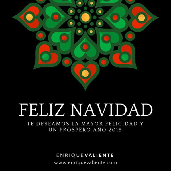 Feliz Navidad y próspero 2019-Enrique Valiente